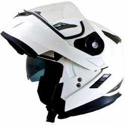 Casco Mt Flux Modular Blanco Brillo
