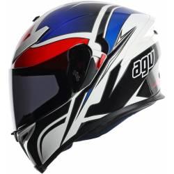 Casco Agv K5 Road Racer Rojo Azul Con Dvs