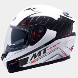 Casco MT Blade Sv Boss Negro Blanco