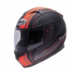 Casco MT Blade Sv Raceline Negro Naranja
