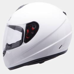 Casco MT Thunder Solid Blanco
