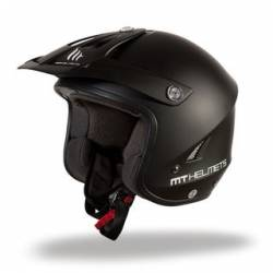 Casco Mt Trial Tr One Negro Mate