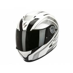 Casco Scorpion Exo 500 Air Focus Blanco Nácar Negro