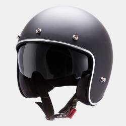 Casco Mt Le Mans Solid Negro Mate