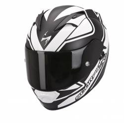 Casco Scorpion Exo 1200 Air Freeway Negro Blanco