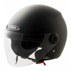 Casco Jet Shiro SH-62 Negro Mate