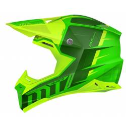 Casco Off Road Mt Synchrony Spec Verde Amarillo