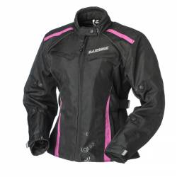 Cazadora Chica Rainers Selena Rosa Impermeable