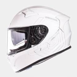 Casco MT Fibra KREsv Solid Pearl White