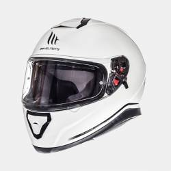 Casco Mt Thunder 3 Sv Solid White