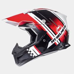 Casco Off Road MT Synchrony Endurance Black Red