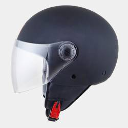 Casco Jet MT Street Solid Matt Black