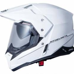 Mt Helmets Synchrony Duo Sport Sv Trail White