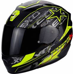 Scorpion Exo 1200 Air Solis Negro Jaune Fluor