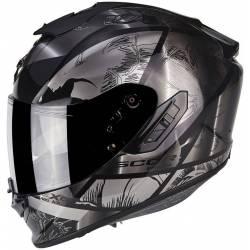 Scorpion Exo 1400 Air Patch Black Silver