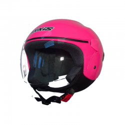 Casco AXXIS jet Sport City Solid Rosa