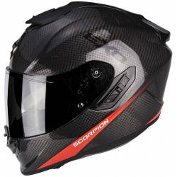 Scorpion Exo 1400 Air Carbon Pure Black Red
