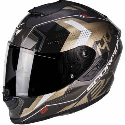 Scorpion Exo 1400 Air Trika Black Gold