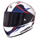 Casco Mt Fibra Kre Sv Intrepid White Red