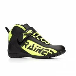 Zapatillas de Moto Rainers t-100 fluor