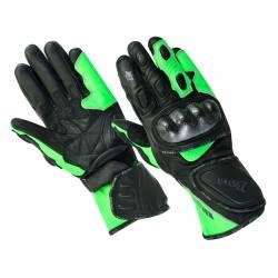 Guante deportivo BSTAR BSM 2020 RACING negro verde fluor