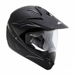 Casco Kappa Trail Negro Mate