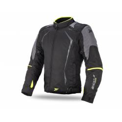 Chaqueta MT Seventy JR47 Invierno Racing Black Yellow Chico