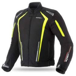 Cazadora R-Tech Marshal Textil Negra Amarilla