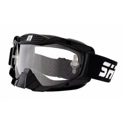 Gafas de cross Shiro ANTIVAHO Negras