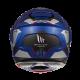Casco Modular MT ATOM SV Transcend Azul Brillo