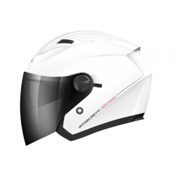 Casco Jet Mt Boulevard Blanco Brillo