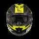 Casco MT Rapide Pro Carbon Negro Amarillo