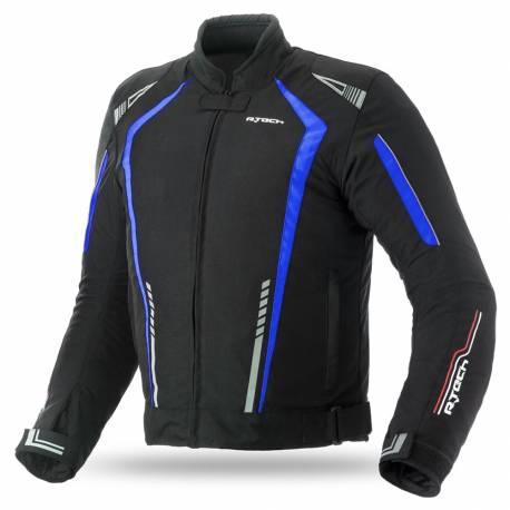 Cazadora R-Tech Marshal Textil Negra Azul