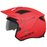 Casco Mt Trial District Sv Solid Rojo Mate