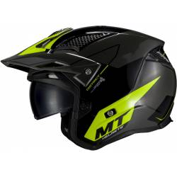 Casco Mt Trial District Sv Summit Negro Amarillo