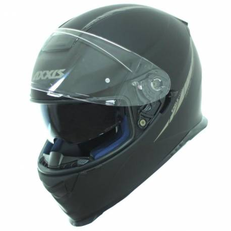 Casco integral Axxis Eagle Sv Negro Mate