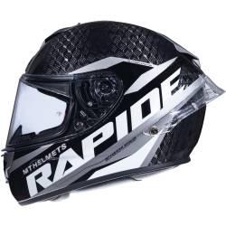 Casco MT Rapide Pro Carbon Gris