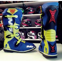 Botas Cross Enduro IMS LIGHT NEON / AZUL