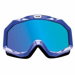 Gafas Cross Anti-Vaho IMS Azul Iridium