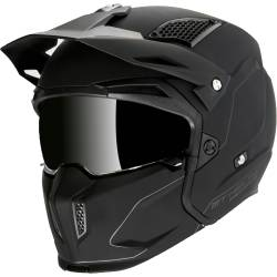 Casco Mt STREETFIGHTER SV SOLID A1 MATT BLACK