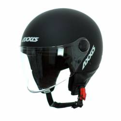 Casco Axxis Square Solid Negro Mate