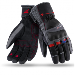 Guantes Seventy SD-T5 IMPERMEABLES TOURING HOMBRE GREY/RED/BLUE