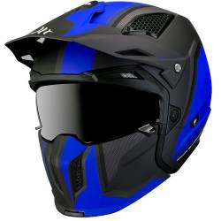 Casco Mt STREETFIGHTER SV TWIN C7 MATT BLUE