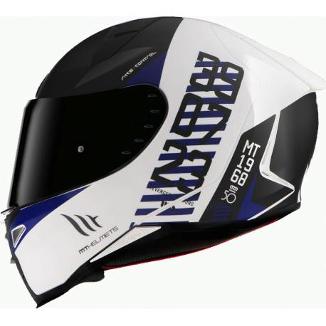Casco MT FF110 REVENGE 2 CHRONO A7 MATT PEARL BLUE