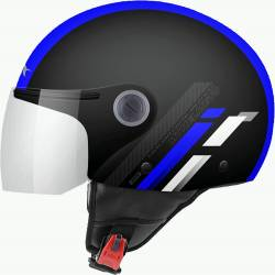 Casco JET STREET SCOPE D7 GLOSS BLUE