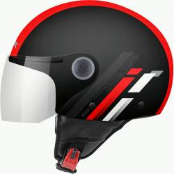 Casco JET STREET SCOPE D7 GLOSS red
