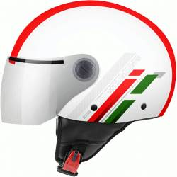 Casco JET STREET SCOPE D7 GLOSS PEARL RED