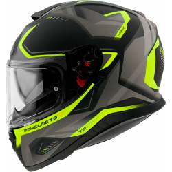 Casco Mt Integral THUNDER 3 SV TURBINE C3 MATT FLUOR YELLOW