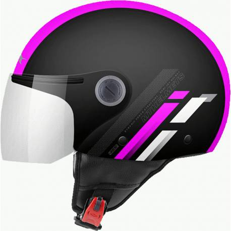 Casco JET STREET SCOPE D8 GLOSS FLUOR PINK