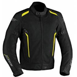 Chaqueta MT Seventy JT32 Verano Touring Black Yellow Chico